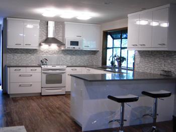 Ikea Abstrakt White Kitchen Remodel Portland Oregon