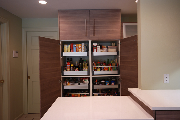 Ikea Pull Out Pantry Soffielund Cabinet Installed Portland